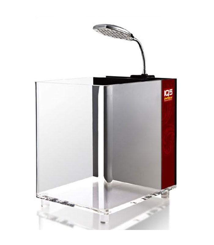 Dymax Iq5 Acrylic Aquarium With Led Light Filter Pump