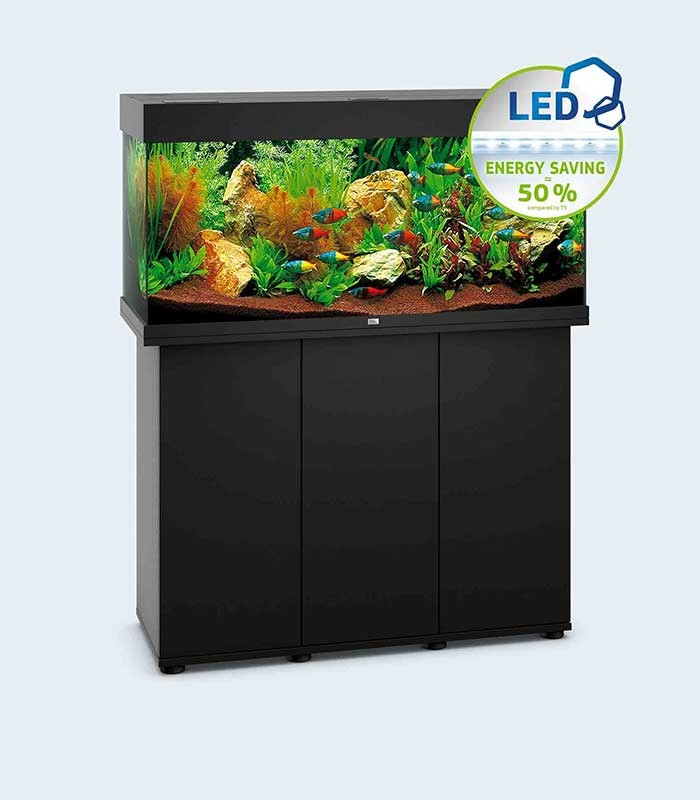 juwel rio 180 ready made aquarium cabinet with lighting. Black Bedroom Furniture Sets. Home Design Ideas