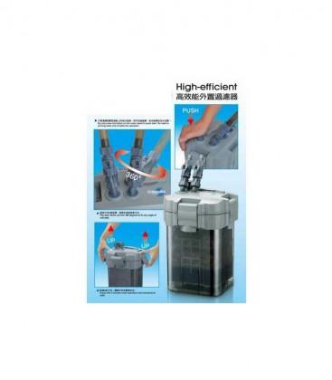 Shiruba XB310 Canister External Filter Pump 960 lph