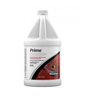 Seachem Prime water conditioner removes chlorine, chloramine