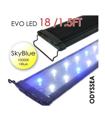 "Odyssea EVO LED 18"" 1.5ft 27W - Skyblue 10000K & Actinic Blue"