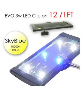 ODYSSEA EVO LED Clip On 12cm (Skyblue)