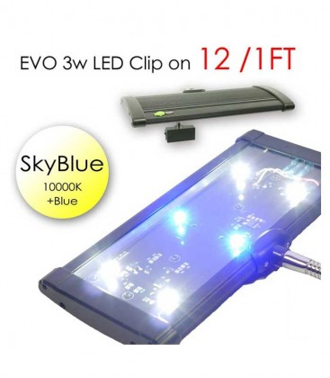 ODYSSEA EVO Led Clip On 12cm (Skyblue) accessory
