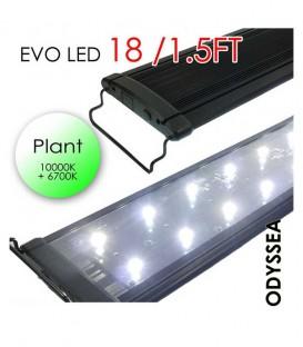 """Odyssea EVO LED Lighting 18"""" 1.5ft 27W - Plant 10000K 6700K lighting"""