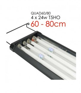 Odyssea QUAD T5 Aquarium Lighting. Energy saving and high output.