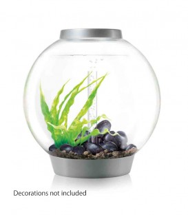 biOrb Classic 60 LED Spherical Aquarium (Silver)
