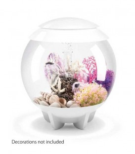 biOrb Halo 15 MCR Spherical Aquarium (White)