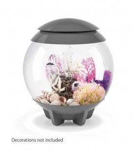 biOrb Halo 15 MCR Spherical Aquarium (Grey)