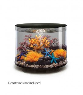 biOrb Tube 35 MCR Cylindrical Aquarium (Black)