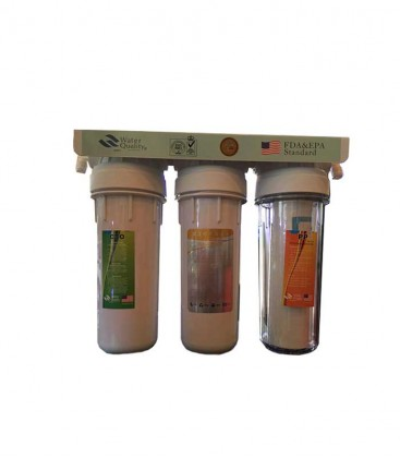 3-Stage DI Deionizer Water Filtration System