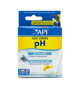 API pH Aquarium Test Strips
