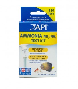 API Ammonia Test Kit - Aquarium water testing