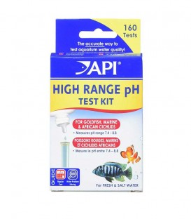 API High-Range pH Test Kit - Aquarium water testing products