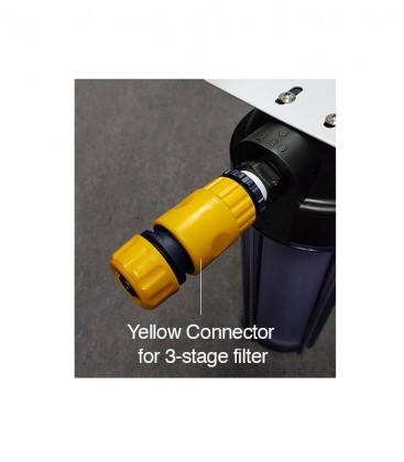 Yellow Connector for 3-stage Filter
