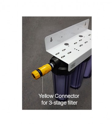 Quick-release connector for 3-stage Filter