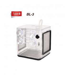Ziss EZ Breeder Box BL-3 suction-mounted breeding box for fish and shrimp separation