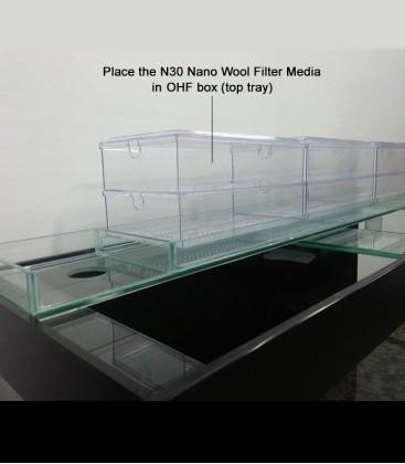 N30 Nano Wool Filter Media for OHF box