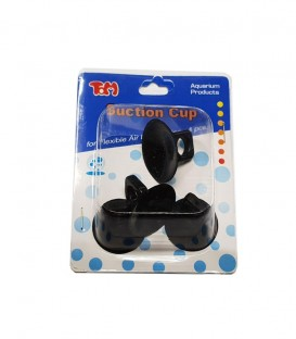 TOM Suction Cup for Flexible Air Line Tubing 4pcs