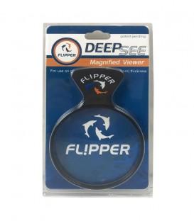 Flipper Deepsee Magnified Magnetic Aquarium Viewer 4 inch