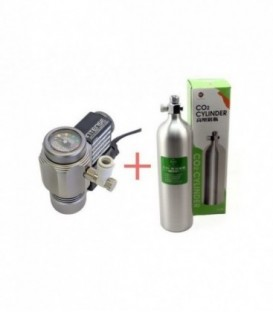 EOA Aluminum CO2 Bundle 0.6L (Intense Regulator)