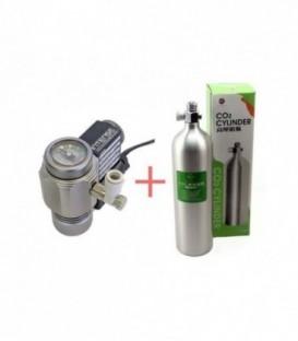 EOA Aluminum CO2 Bundle 1L (Intense Regulator)
