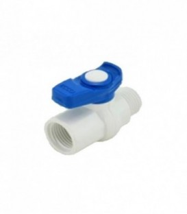 ECCO PVC Mini Ball Valve M/F 16mm