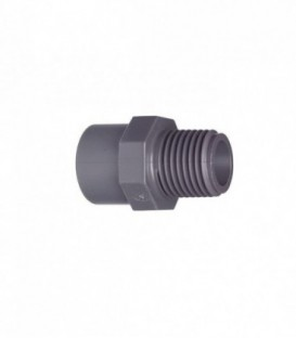 PVC Male Threading Socket (various sizes)