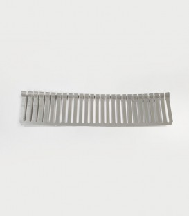 N30 Aquarium Overflow Weir Comb Grey (per ft)