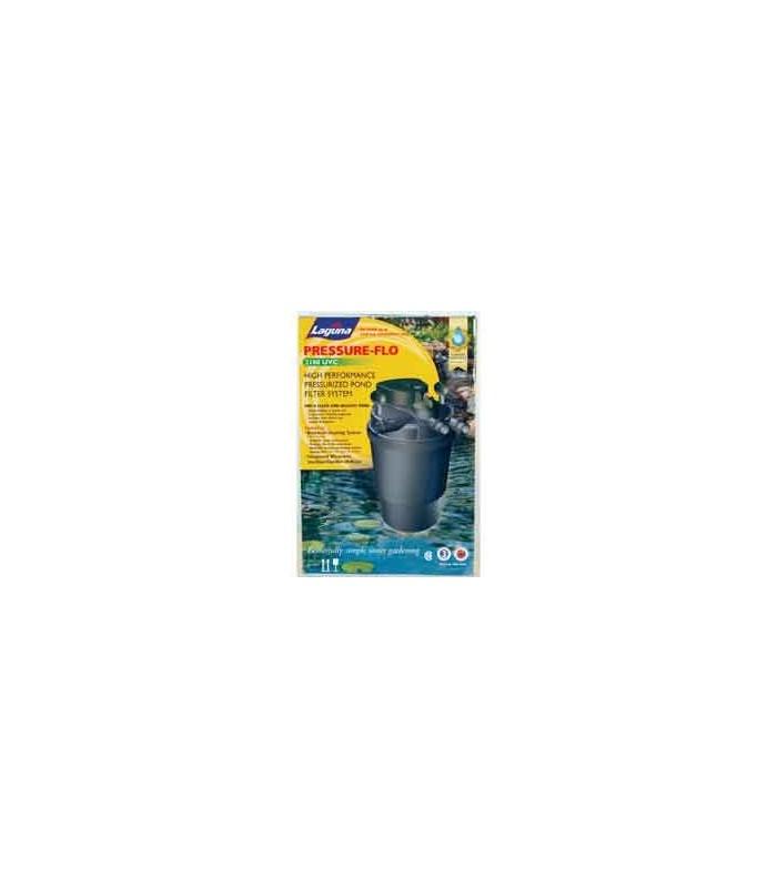 Laguna pressure flo 8000 pond filter pump uv sterilizer for In line pond filter