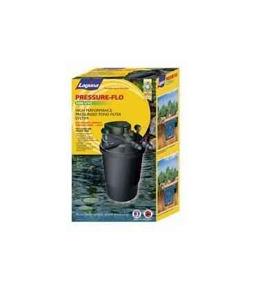 Laguna pressure flo 5000 pond filter pump uv sterilizer for In line pond filter