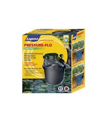 Laguna pressure flo 2500 pond filter pump uv sterilizer for In line pond filter