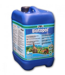 JBL Biotopol 5000ml 5l neutralises chlorine. With contains aloe vera and vitamin B complex to strengthen fish.