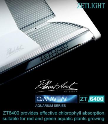 Zetlight ZT6400 QMAVEN 200W LED Planted Aquarium Lighting