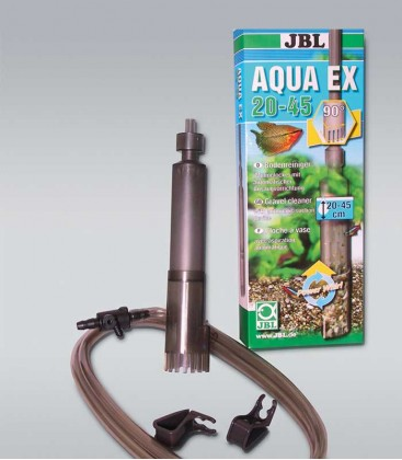 JBL AquaEX Set 20-45 Gravel Siphon Aquarium Sludge Cleaner