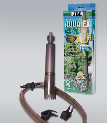 JBL AquaEX Set 45-70 Gravel Siphon Aquarium Sludge Cleaner