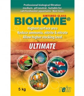 Biohome Ultimate Aquarium Bio Filter Media 5kg - Rein Biotech