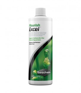 Seachem Flourish Trace - Organic carbon supplement for planted tanks.