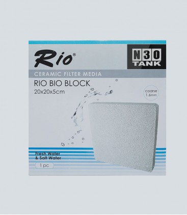 N30 Bio Block ceramic filter media speedily removes ammonia and nitrite.
