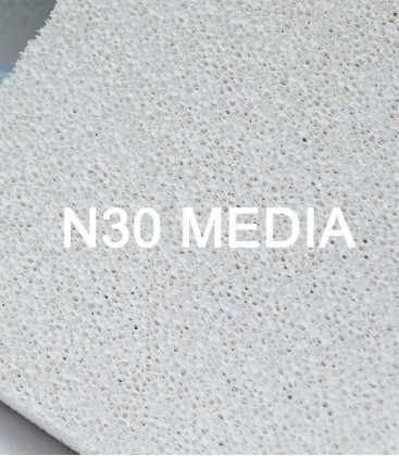 N30 Bio Block ceramic filter media speedily removes fish waste and organics.