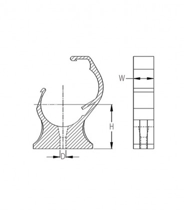 Shackle Clip Pipe Lock