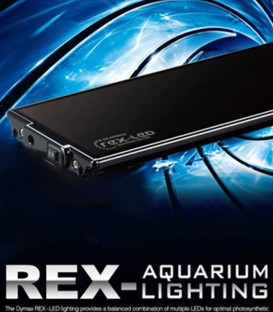 Dymax Rex LED Aquarium Lighting - 120cm