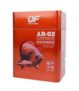 Ocean Free AR-G2 Intense Colour 1kg - Large Aworana Food