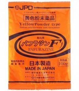 JPD Pafurazine F Yellow Powder Koi Medicine (100g)