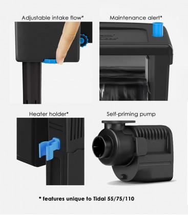 Seachem Tidal 55 Aquarium Power Filter / Hang-On Filtration System