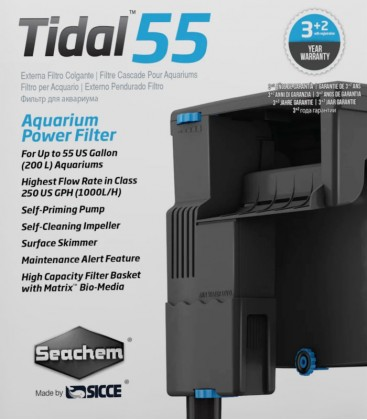 Seachem Tidal 55 Aquarium Power Filter