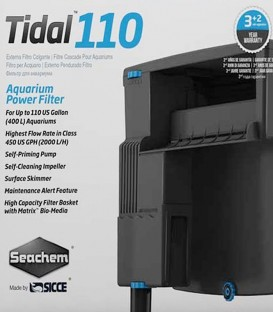 Seachem Tidal 110 Aquarium Power Filter