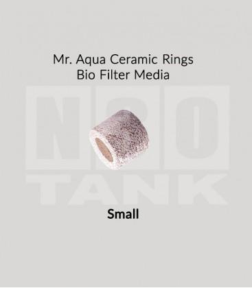 Mr Aqua Ceramic Rings Bio Filter Media 20L - Small