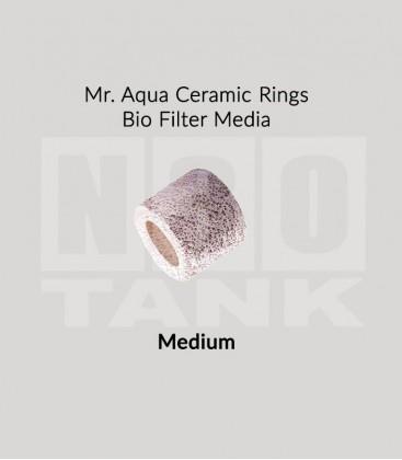 Mr Aqua Ceramic Rings Bio Filter Media 20L - Medium