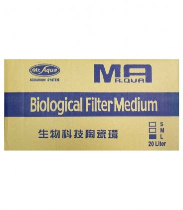 Mr Aqua Ceramic Rings Bio Filter Media 20L - Large
