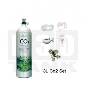 ISTA 3L CO2 Aluminium Cylinder Set